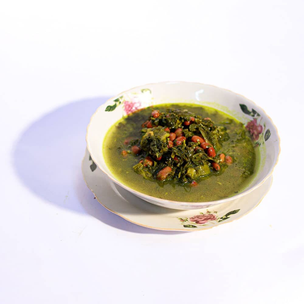 תבשיל גדרה פרסית עם עישבי טיבול פרסיים ,שעועית אדומה ,לימון פרסי